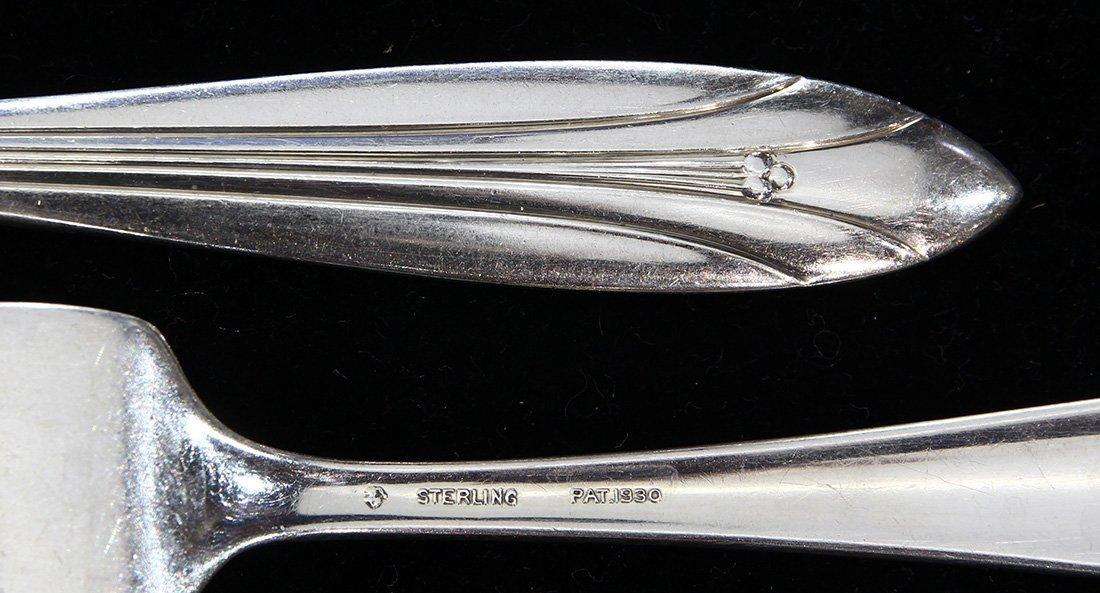 International Silver Co. sterling silver flatware - 2