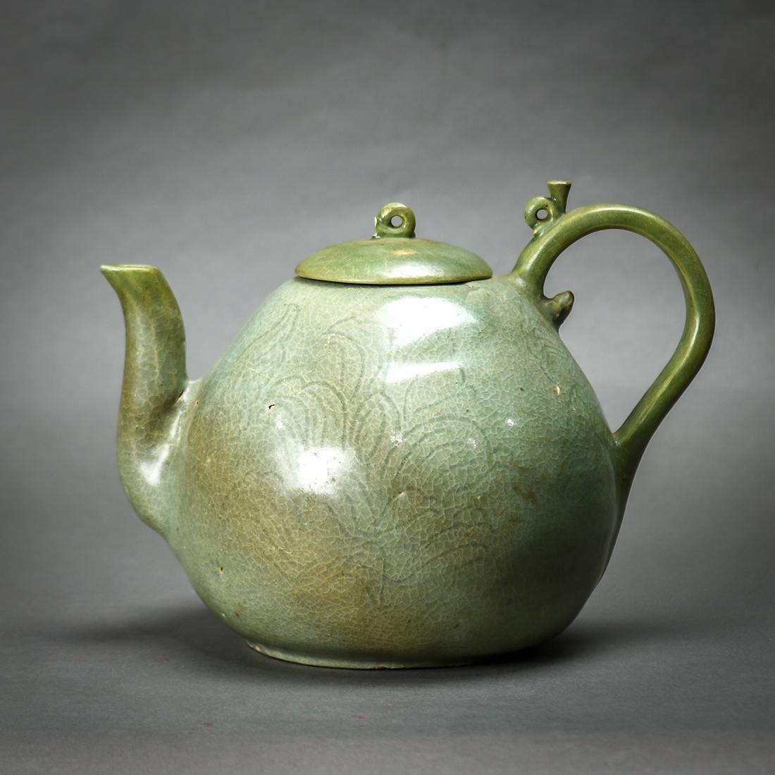 Korean Celadon Ceramic Teapot