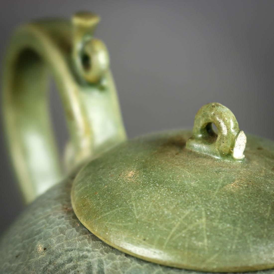 Korean Celadon Ceramic Teapot - 4