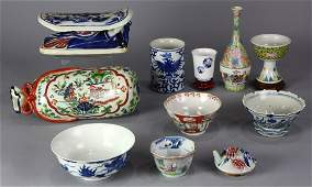 Group of Chinese/Japanese Porcelain