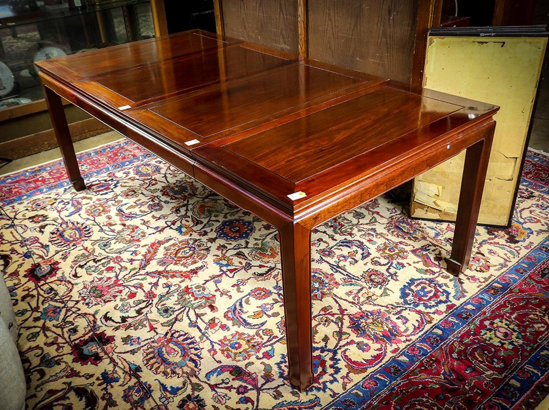 Chinese Hardwood Dining Table
