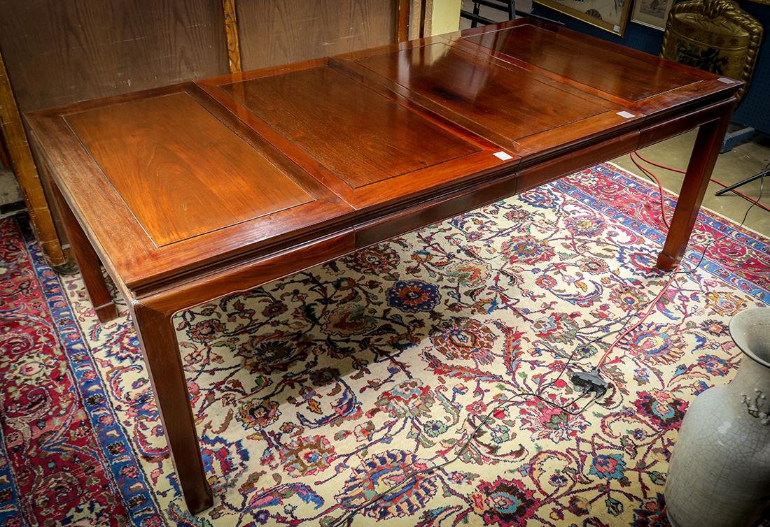 Chinese Hardwood Dining Table - 2