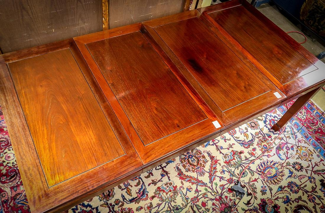 Chinese Hardwood Dining Table - 3