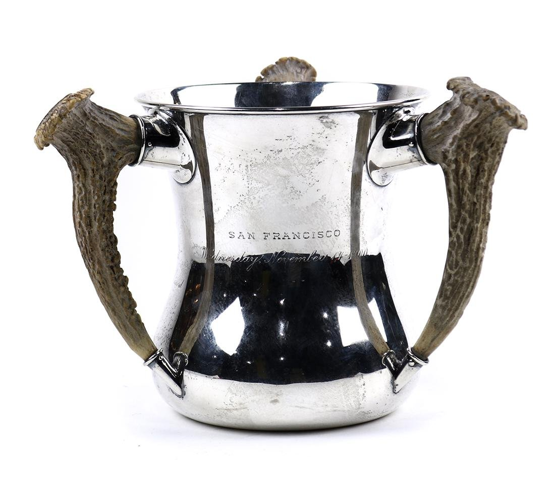 Shreve & Co  sterling silver loving cup