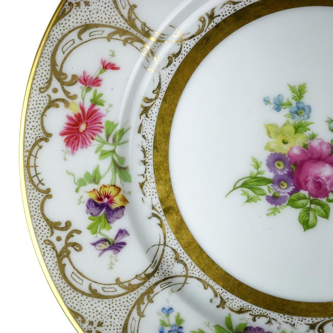 Limoges porcelain dessert plates