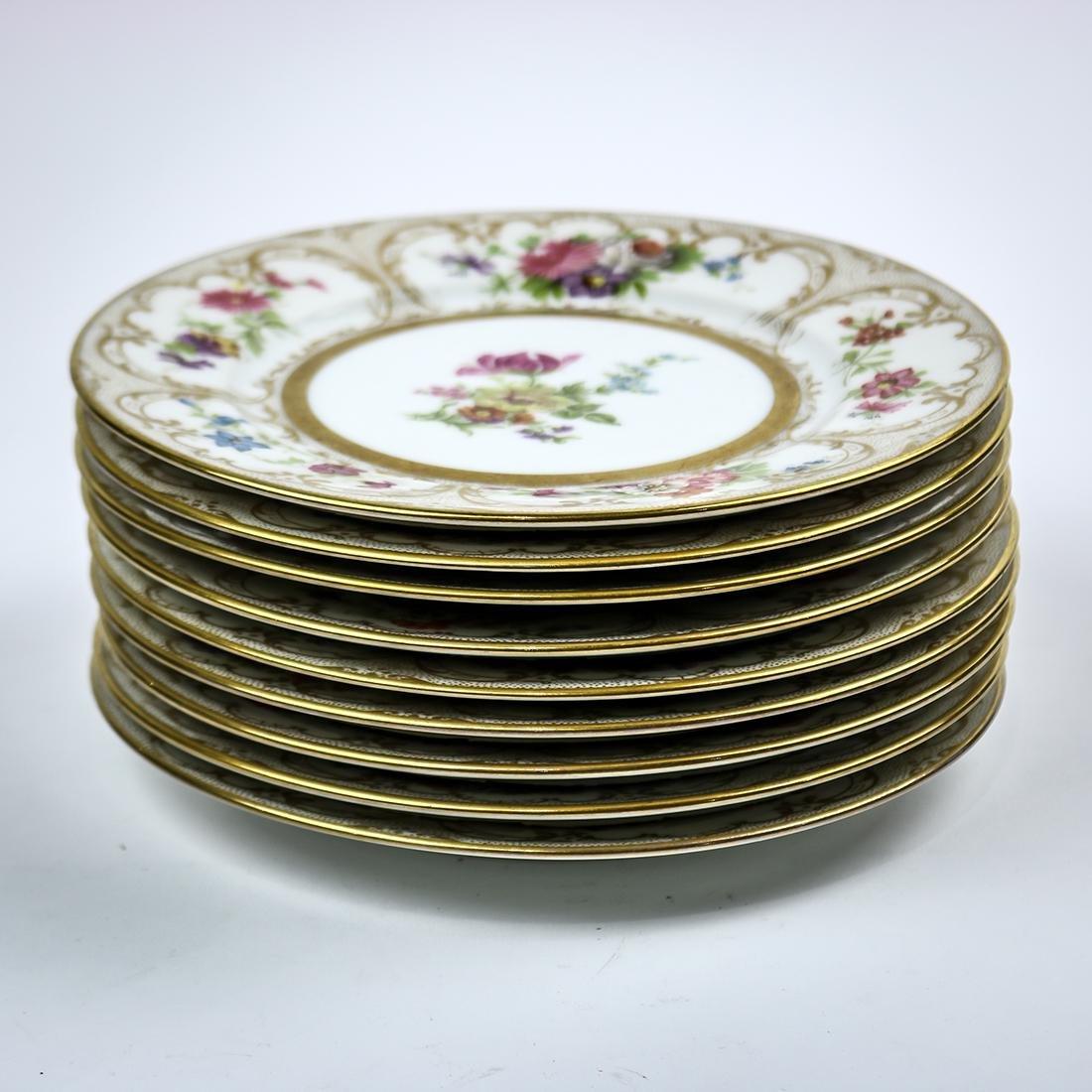 Limoges porcelain dessert plates - 5