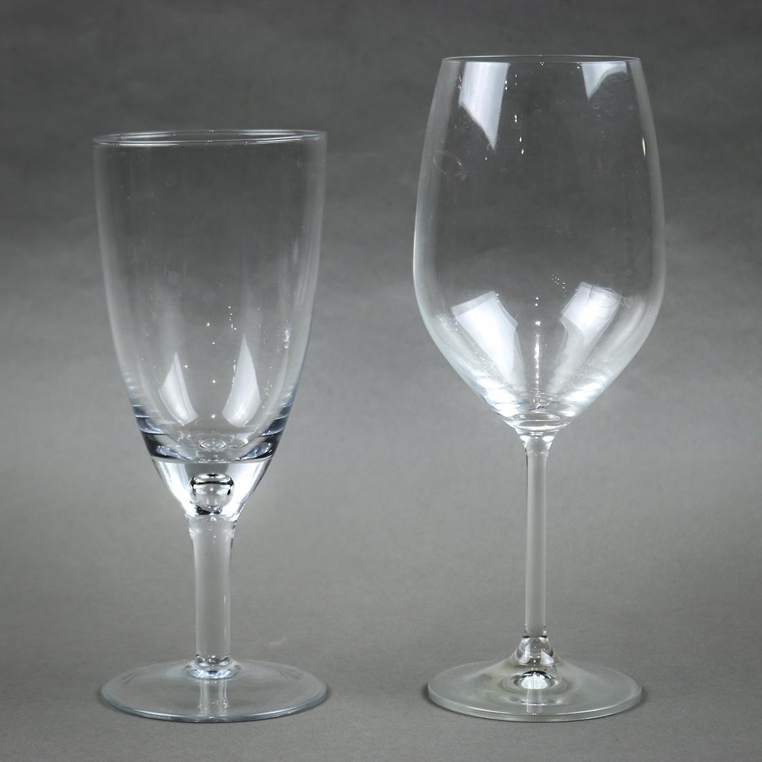 Lenox glass stemware