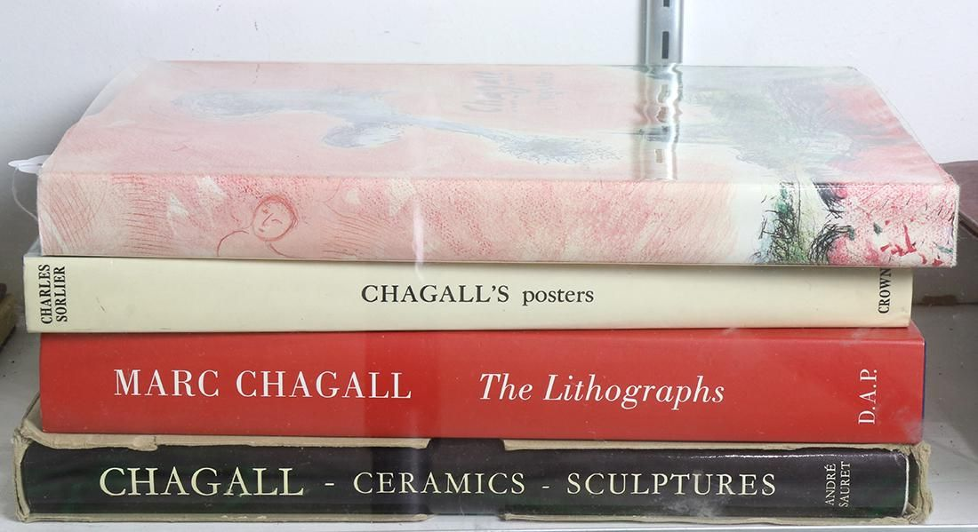 (lot of 4) Chagall