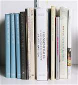 lot of 13 American Contemporary Artists 13 Volumes