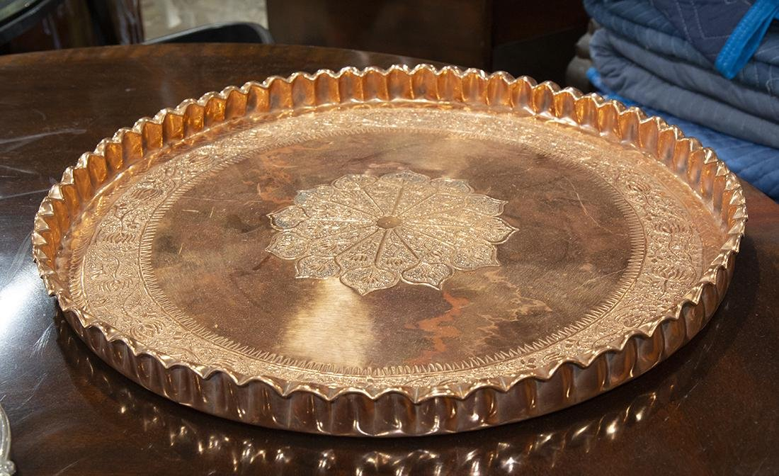 East Indian copper centerpiece
