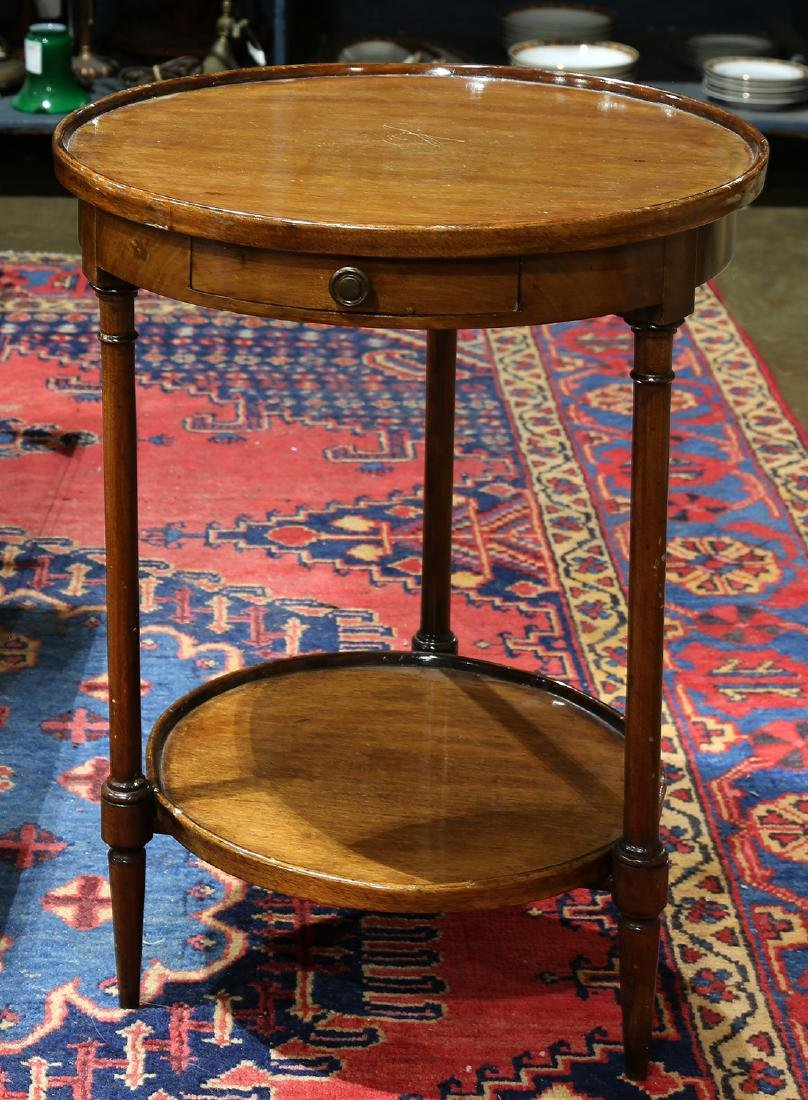 Federal style side table