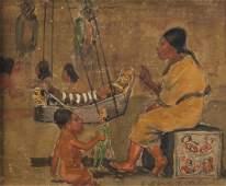 Watercolor, Edwin Willard Deming