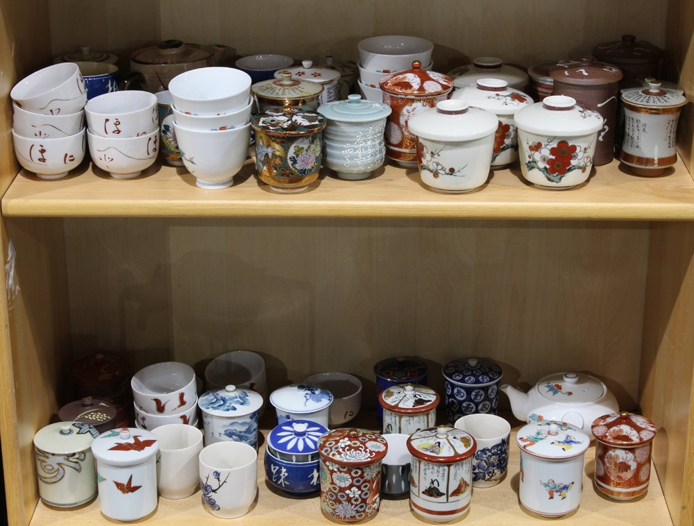 Assorted Japanese ceramics Tea pots