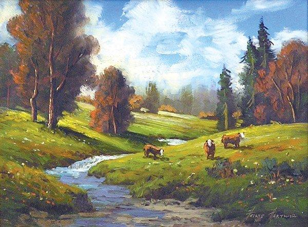 4001: Painting Heine Hartwig American