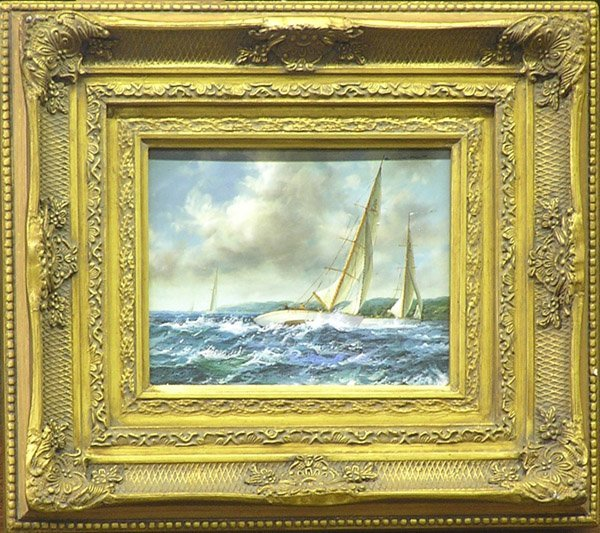 4004: Paintings contemporary ships fishing