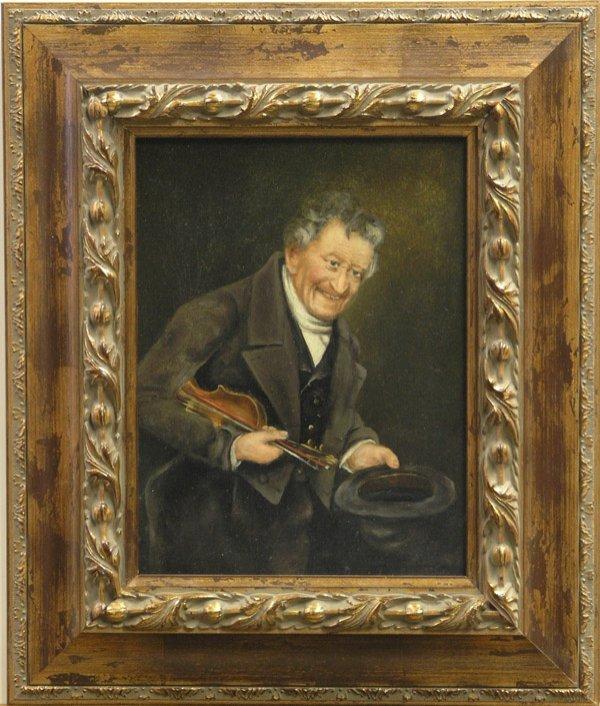 4006: Painting Portrait European