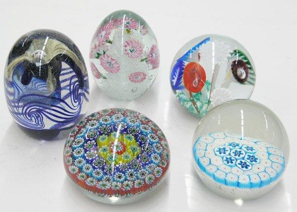 4018: Millefiori paperweights egg