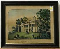 4423 lithograph Currier and Ives American