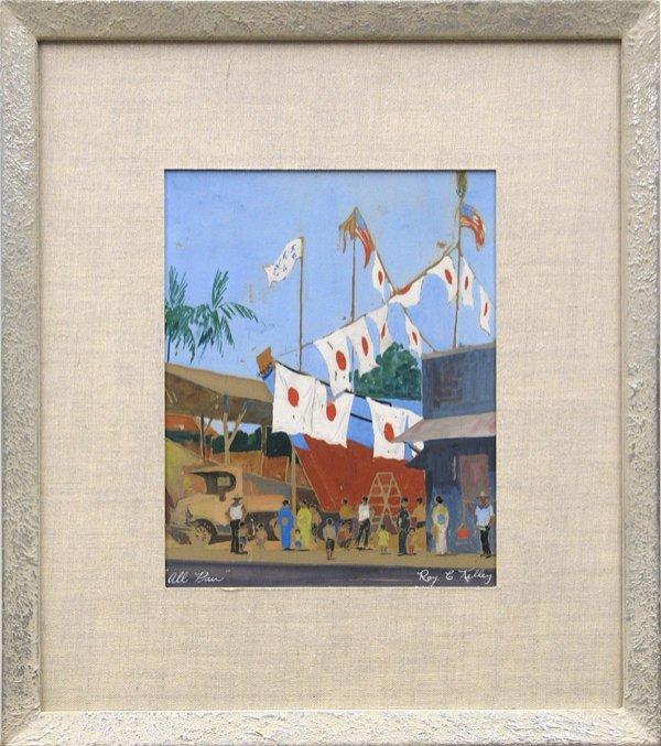 6001: painting Roy C. Kelley American