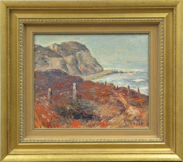 6009: painting John A. Dominique Californian