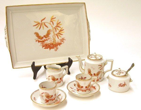 6016: Ginori porcelain Golden Birds Siena