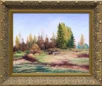 6144: painting Vasiliy Gribennikov Russian