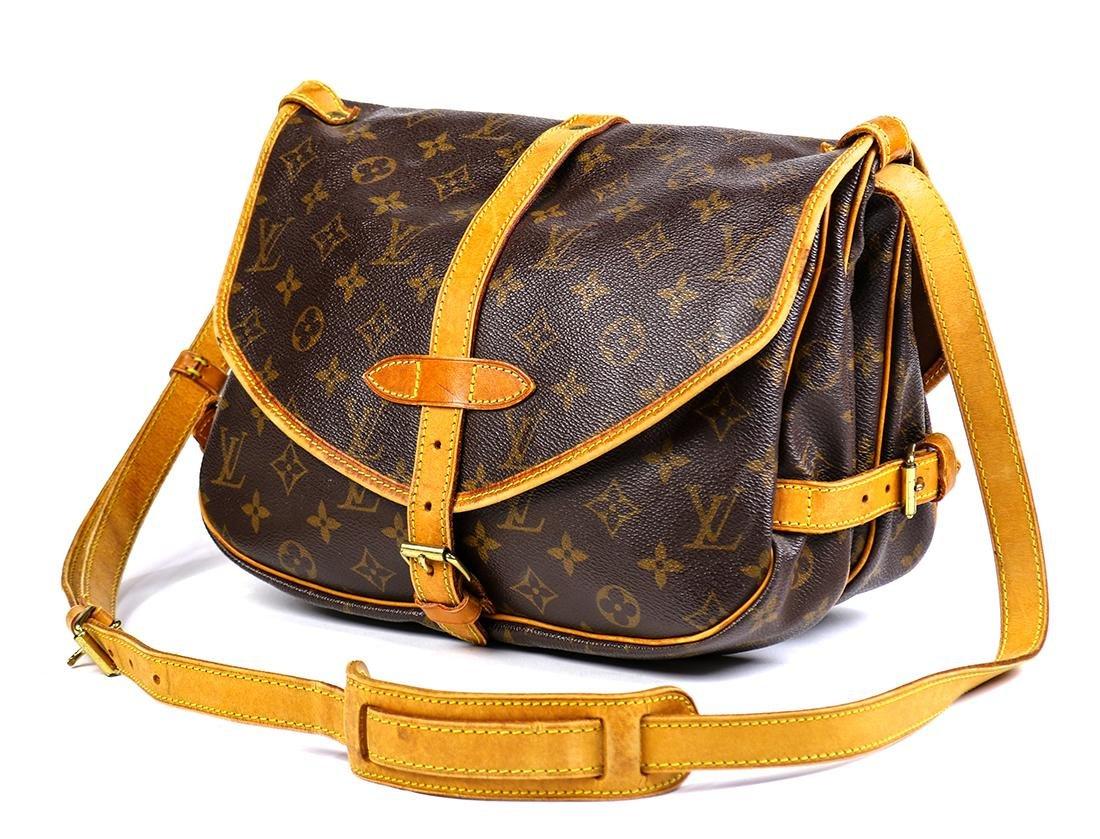 Louis Vuitton Monogram Saumur 25 handbag