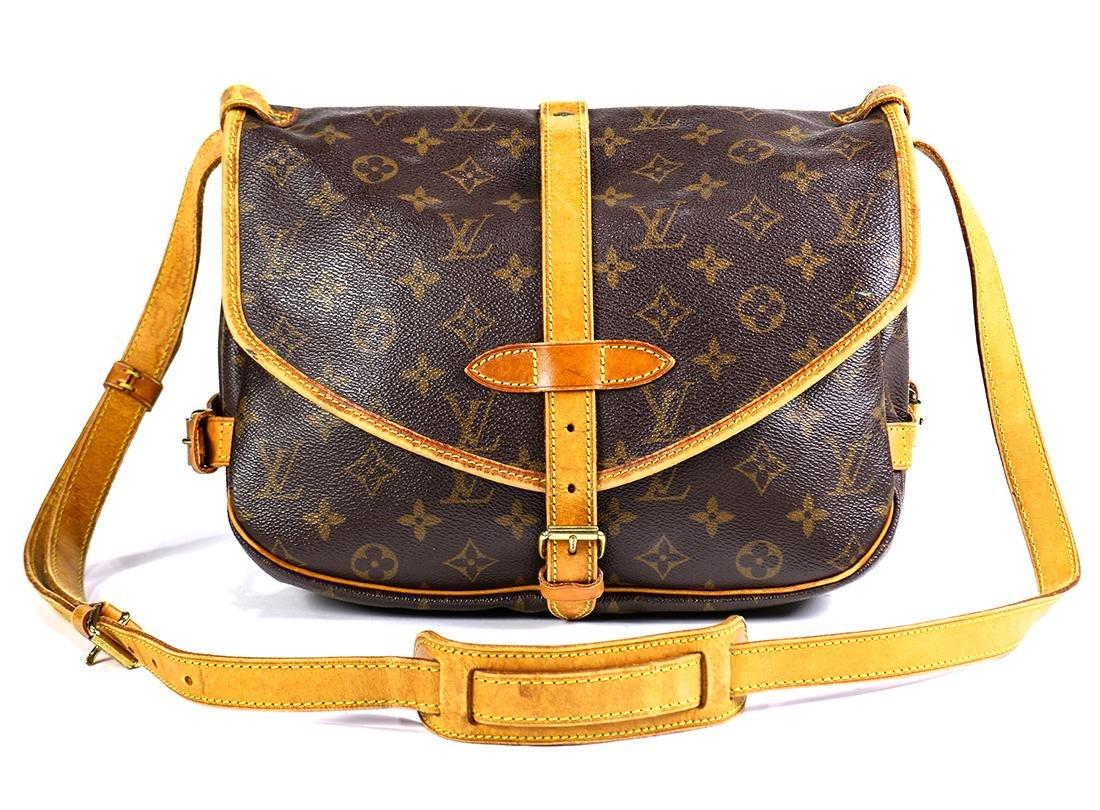Louis Vuitton Monogram Saumur 25 handbag - 2
