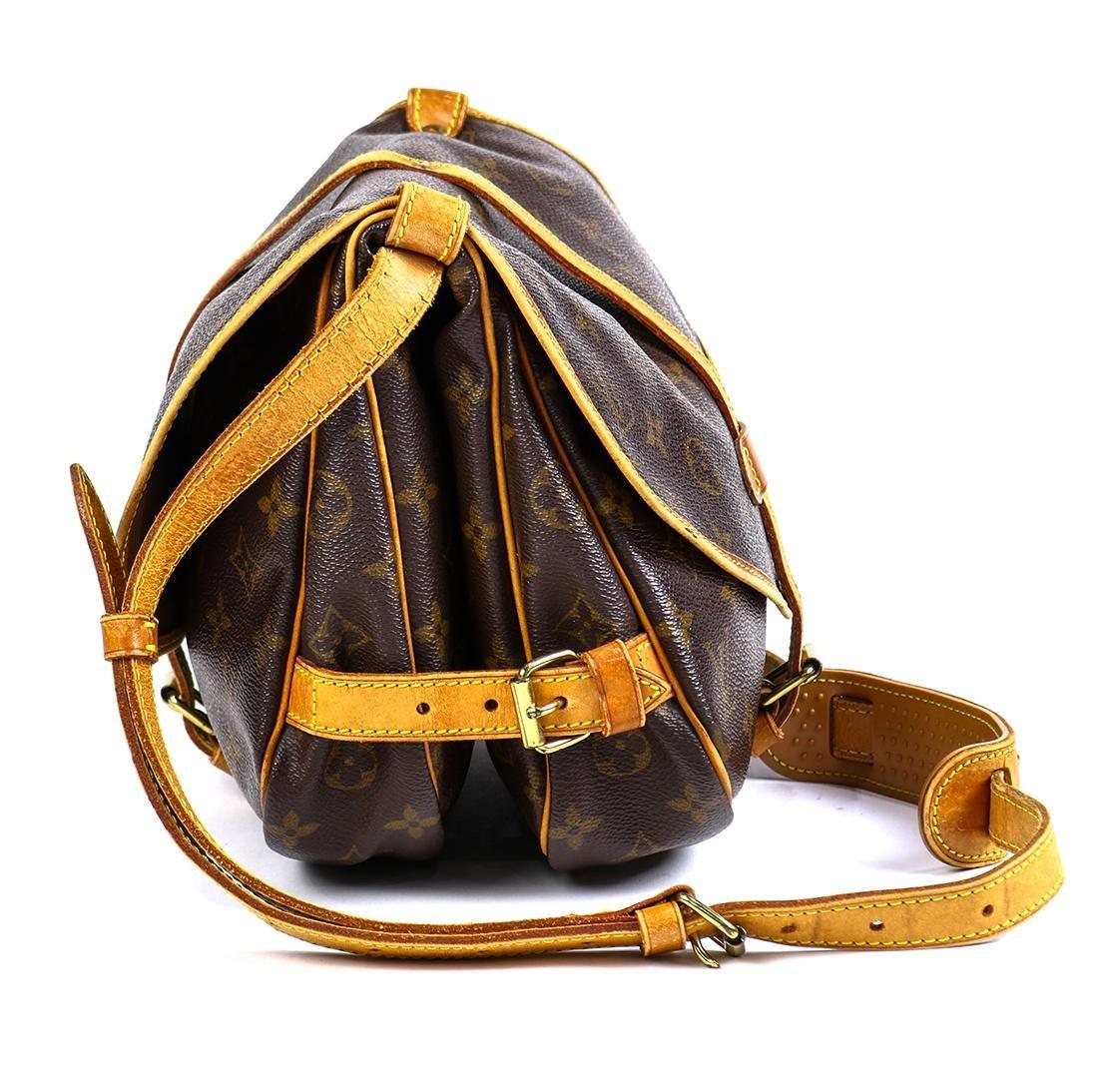 Louis Vuitton Monogram Saumur 25 handbag - 3
