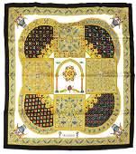"Hermes ""Ciels Byzantins"" silk scarf, by J"