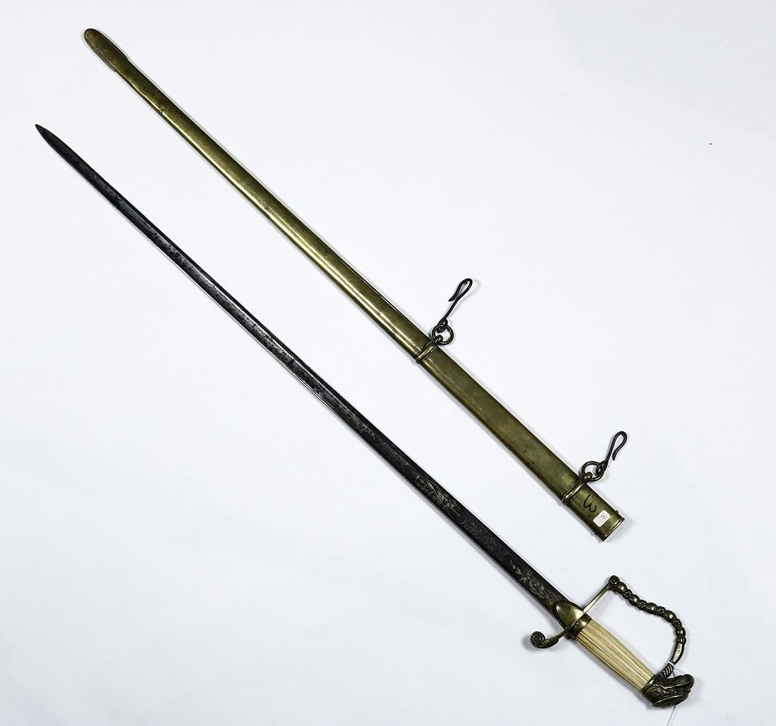 American Infantry Officer's Eagle-Head Sword - 3
