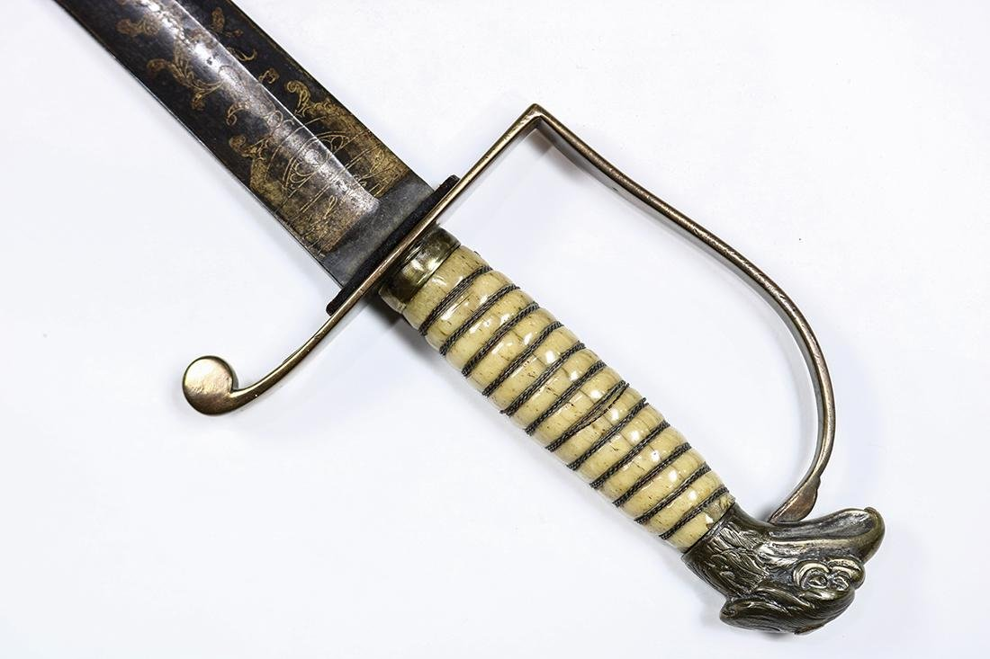 American Infantry Officer's Eagle-Head Sword - 2