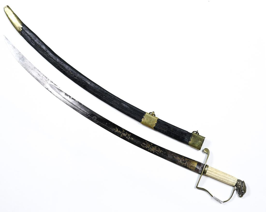 American Infantry Officer's Eagle-Head sword - 2