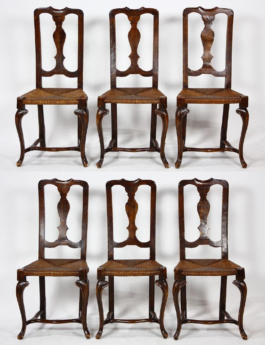 Provincial side chairs