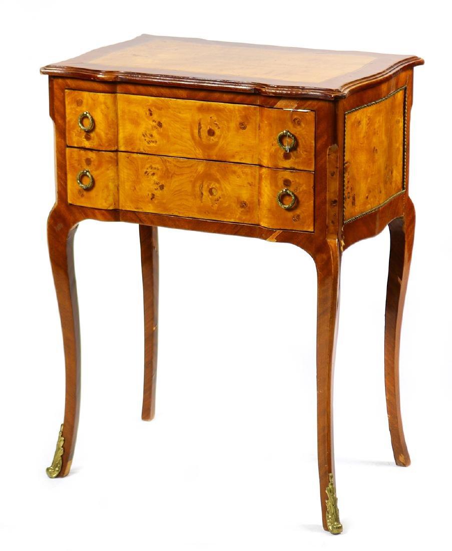 Louis XV style mahogany petite commode