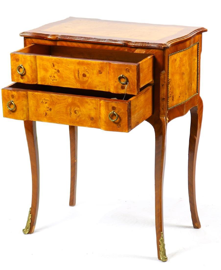 Louis XV style mahogany petite commode - 2