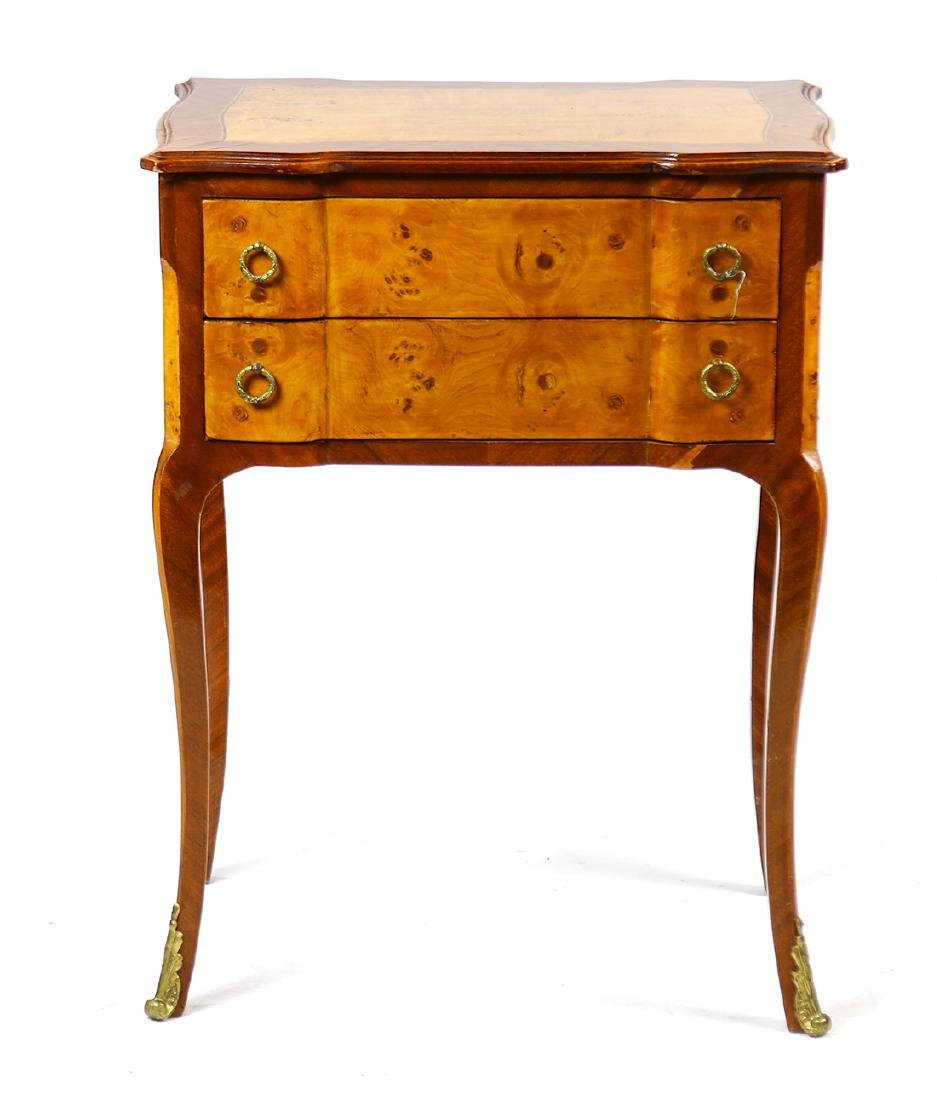 Louis XV style mahogany petite commode - 3