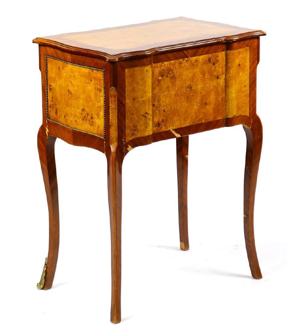 Louis XV style mahogany petite commode - 4