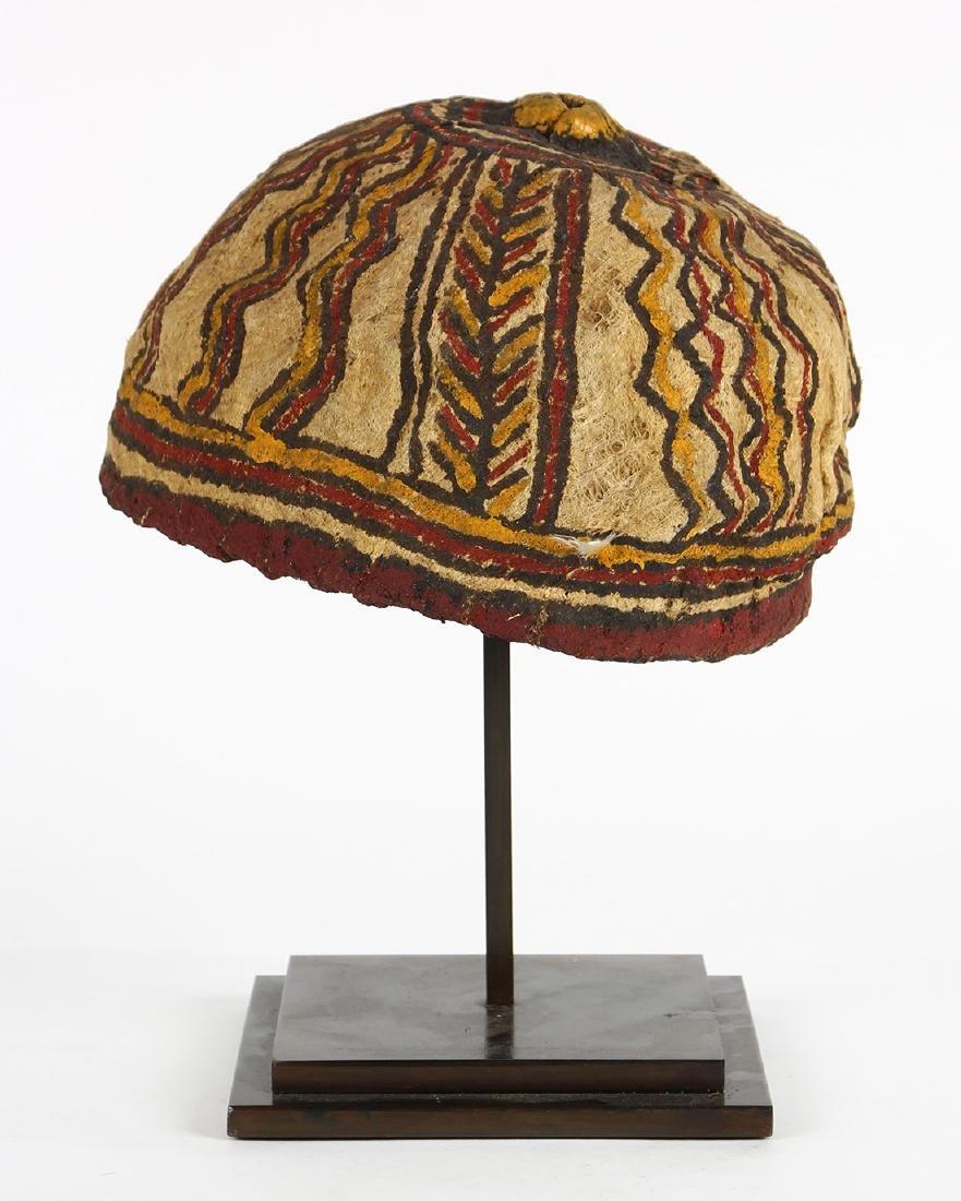 Markham Valley, Papua New Guinea, tapa hat - 2