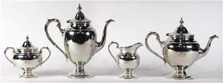 Gorham sterling silver hot beverage service, 20th
