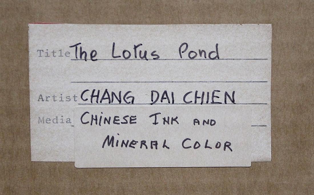 Zhang Daqian/Chang Dai-chien, The Lotus Pond - 9