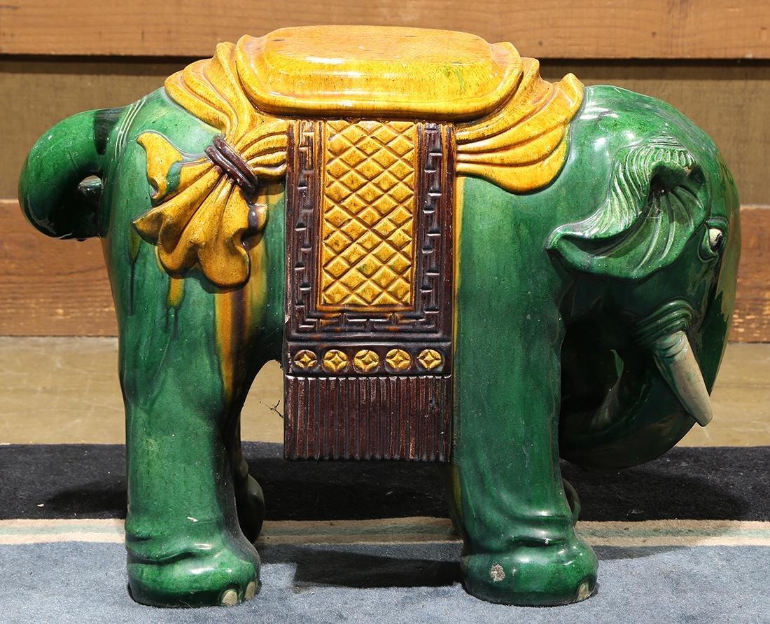 Chinese Ceramic Garden Stool - 2