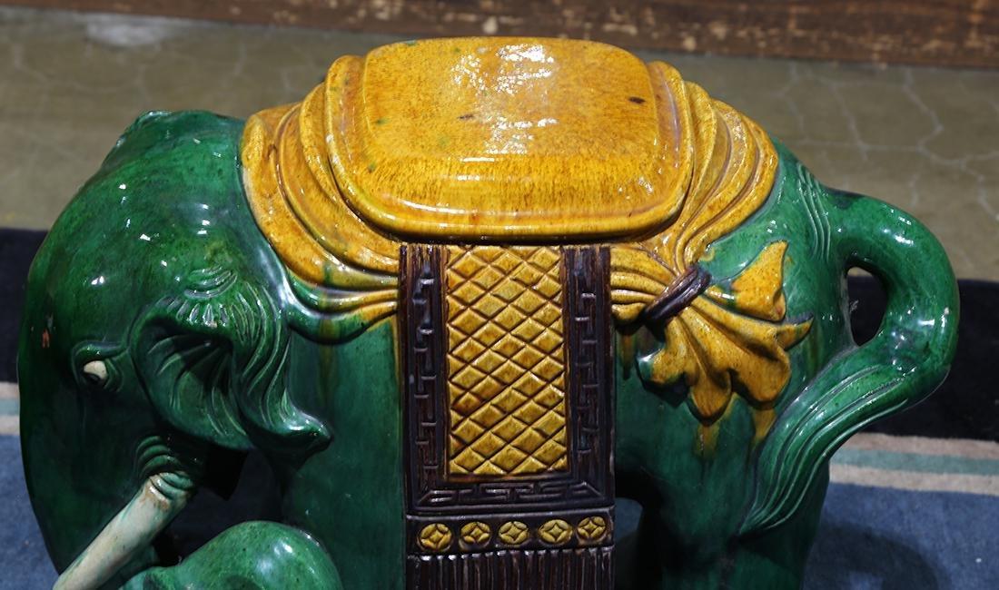Chinese Ceramic Garden Stool - 3