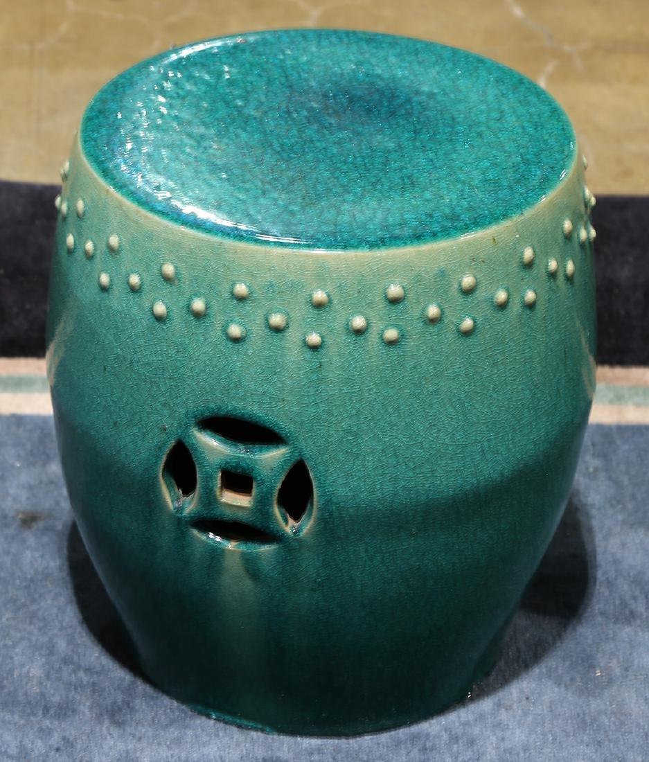 Chinese Ceramic Garden Stool - 4