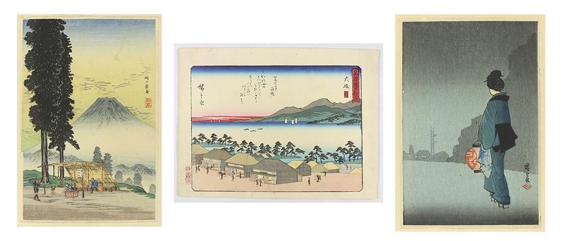 Japanese Woodblock Prints:, Hiroshige, Shotei