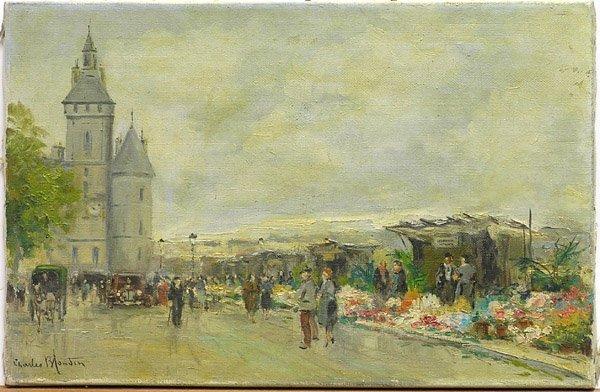 2000: Painting Charles Blondin Paris