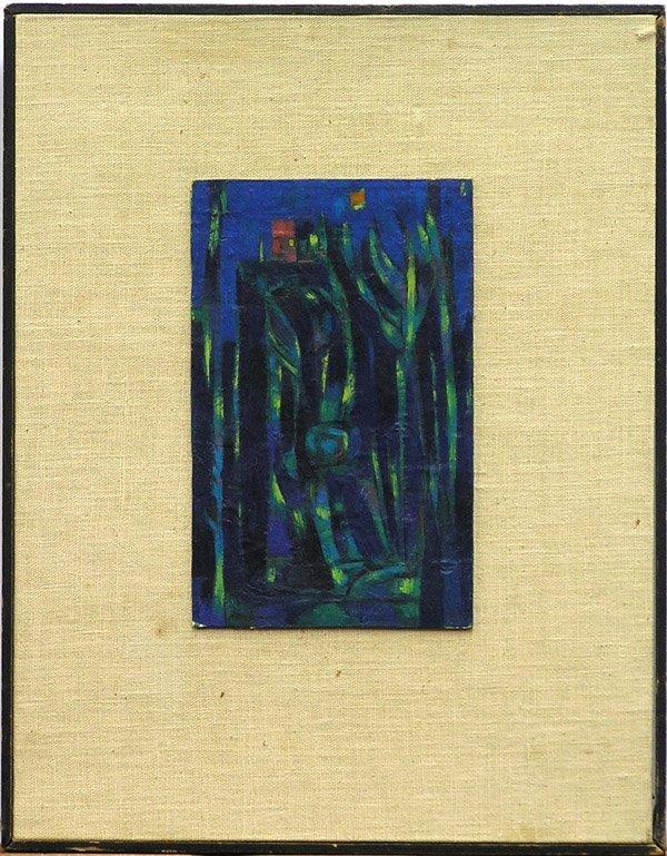2001: Painting Reichman SFMOMA