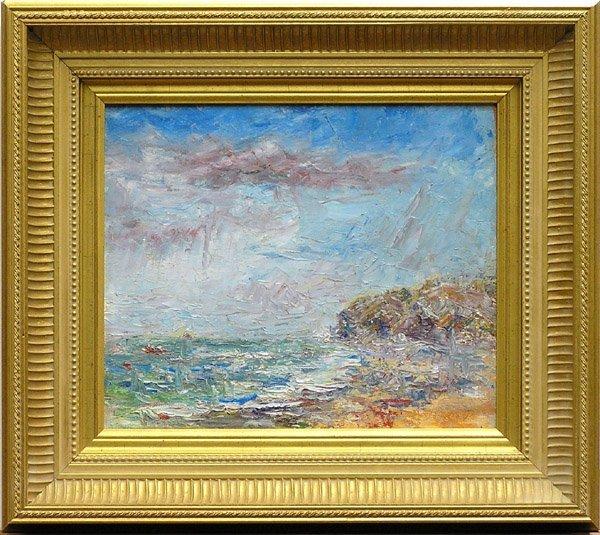 2002: Painting John Dominique California