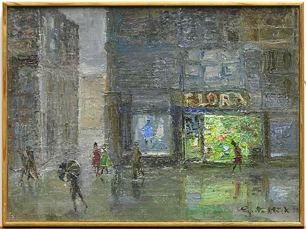 2003: Painting Genre Scene
