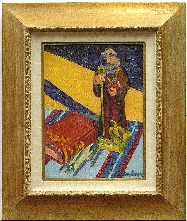 2004: Painting Ken Christensen American